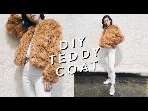 DIY TEDDY COAT ✨🐻✨| WITHWENDY