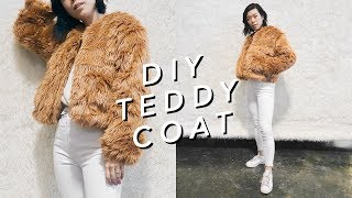 DIY TEDDY COAT ✨🐻✨| WITHWENDY