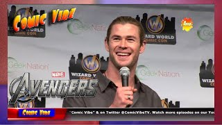 Thor Panel | Chris Hemsworth | Philadelphia Comic Con