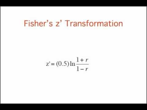 Sampling Distributions: Pearson's R