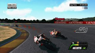 Motogp 13 gameplay #56 MotoGP at Valencia