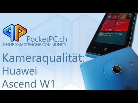 Huawei Ascend W1 Kamera Beispielvideo