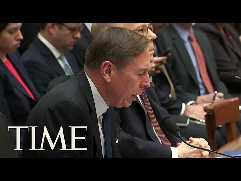 Former CIA Director David Petraeus Testifies Against President Trump's Immigration Order | TIME