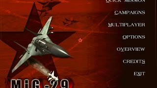 MiG-29 Fulcrum (Novalogic, 1998) gameplay (PC Game, 1998)