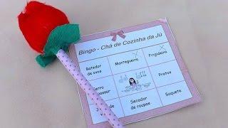 DIY BINGO - Idéia de brincadeira chá de panela e chá bebê