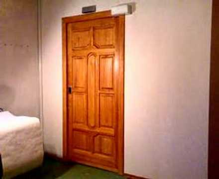 & Home / interior automatic door. Motorized pocket door. - YouTube