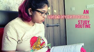 A very unconventional study routine! | For Exams