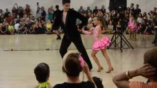 Montuno Stars Kid's Salsa at Montuno Dance Summer Showcase 2013