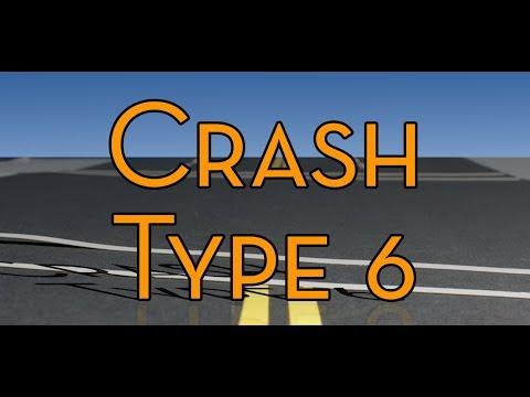 Car Crash Type 6 - Rear-ended as traffic slows ahead