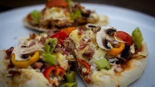Folge34 - Pulled Pork Pizza Vom Monolith Junior [deutsches Bbq- Und Grill-rezept]