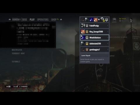 how to make custom game in rainbow 6