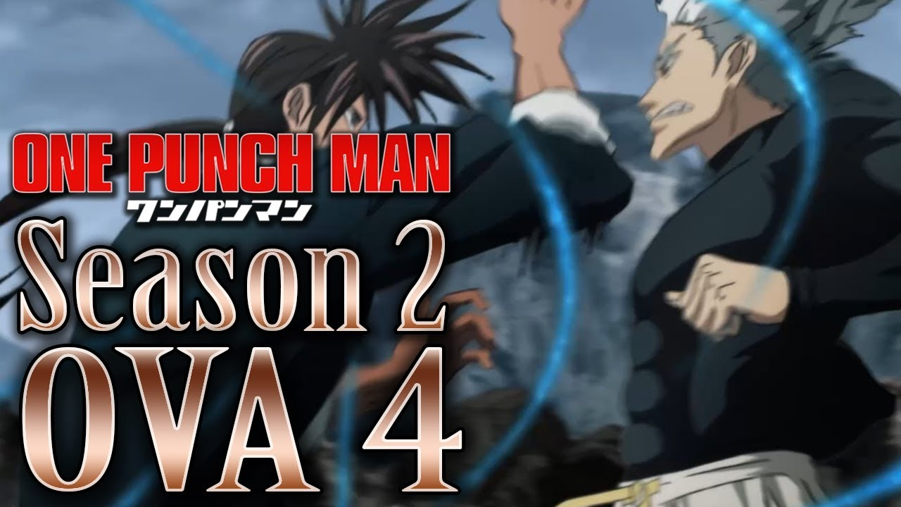 Garou Fights Suiryu One Punch Man Season 2 Ova 4 Review Youtube