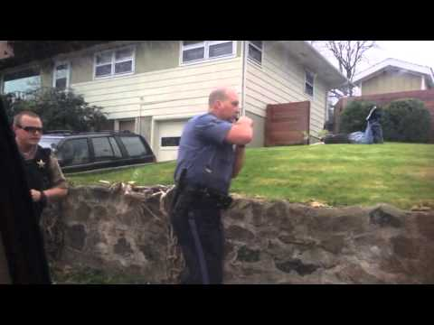 The Dalles Chase Ending and Arrest