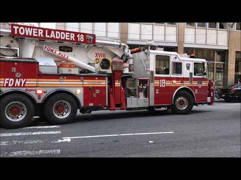 FDNY BOX 106 - 2ND ALARM MAJOR CARBON MONOXIDE INCIDENT IN THE TRIBECA AREA OF NEW YORK CITY.