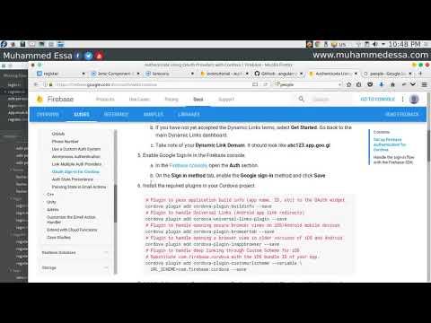 30 Ionic 3 User Profile page - ويتروو