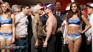 Miguel Cotto vs. Canelo Alvarez COMPLETE Weigh In & Face Off video