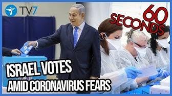 Israel votes amid coronavirus fears- This Week in 60s 7.3.2020