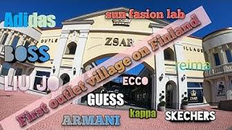 ZSAR Outlet Village Vaalimaassa /แหล่งชอปปิ้งแห่งใหม่ที่ฟินแลนด์