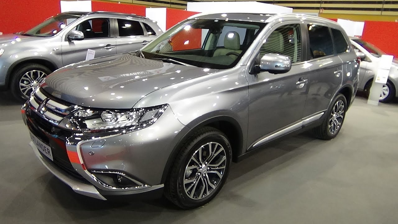 Interieur Mitsubishi Outlander 2018 Mitsubishi Outlander 2 2 Instyle 4wd Exterior And Interior Salon Automobile Lyon 2017