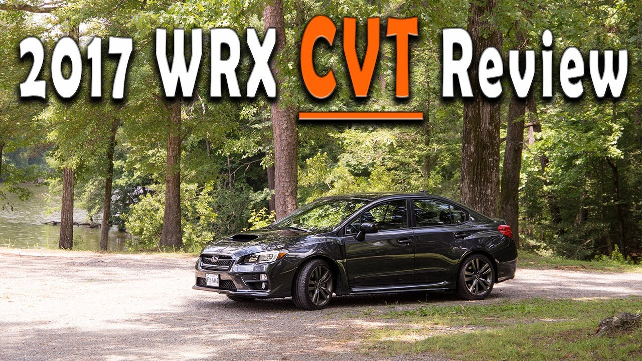 2017 Wrx Limited Cvt Review
