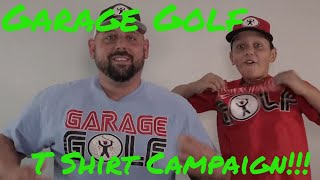 Garage Golf Bonfire.com T-Shirt Campaign