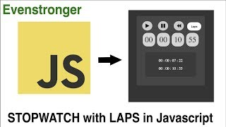 How to make stopwatch using html