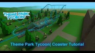 Proprietà Roblox . Tema Parco Tycoon 2 Roller Coaster Esercitazione #2