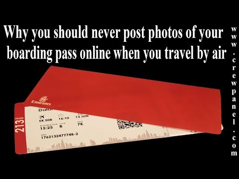 Jim E. Chonga - Why You Should Never Print Out Your Boarding Pass!