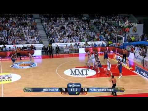 Exciting last minute: Real Madrid 71-72 FC Barcelona Regal