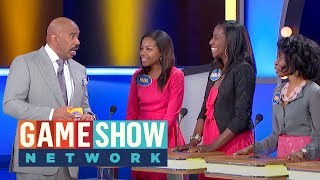 Mom Criticizes | Family Feud | Game Show Network
