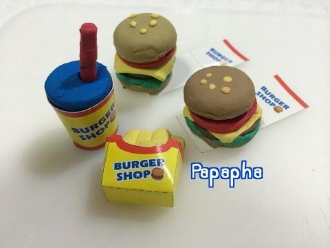 [by Papapha] - สอนทำชุดโดนัทดินน้ำมันยางลบญี่ปุ่น / Donut Set