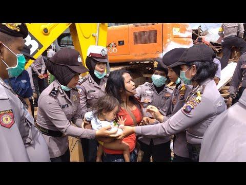 Perlawanan Warga Pengontrak Eks Stasiun PJKA Bukittinggi Nyaris Ricuh