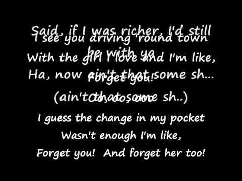 Forget You (Karaoke Glee Version) w/Lyrics, backing vocals Free Download