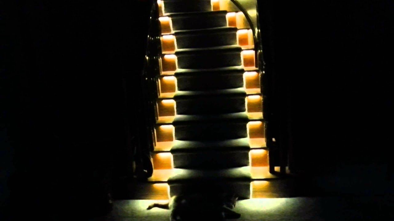 LED Stair Lighting Project