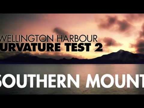 Flat Earth - The Wellington Harbour Curvature Test