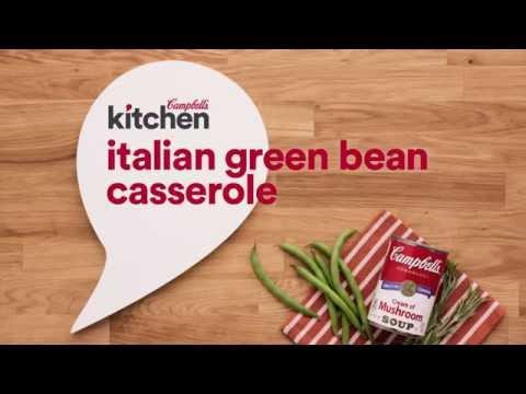 Campbell's Kitchen | Italian Green Bean Casserole