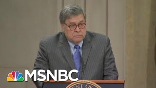 Republicans Claim Trump Tweets Shouldn't Be Taken Seriously, Barr Disagrees | The Last Word | MSNBC