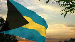 Flag and anthem of Bahamas