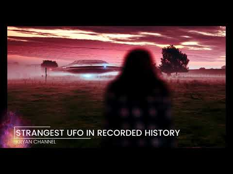 Weirdest Alien UFO Landing Ever Filmed In 4K Close Up: Extraterrestrial? Military? Time Travel?