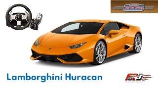 [Lamborghini Huracan] тест-драйв, обзор, пони суперкар City Car Driving 1.5.3 Logitech G27