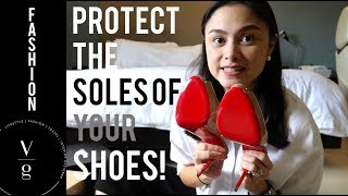 Luxury shoes must have! how to protect the sole of your shoes?- Vanna Garcia