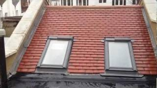 Earls Court New Pitched Roof Installation And Rubberbond Epdm Flat Roof.