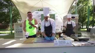ШЕФ-ТУРНИР. Владимир Гришуков / Chef Torneo at Fish Fest. Vladimir Grishukov.