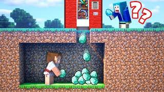 Hice una TIENDA TROLL para Robar DIAMANTES a mis Amigos | Minecraft