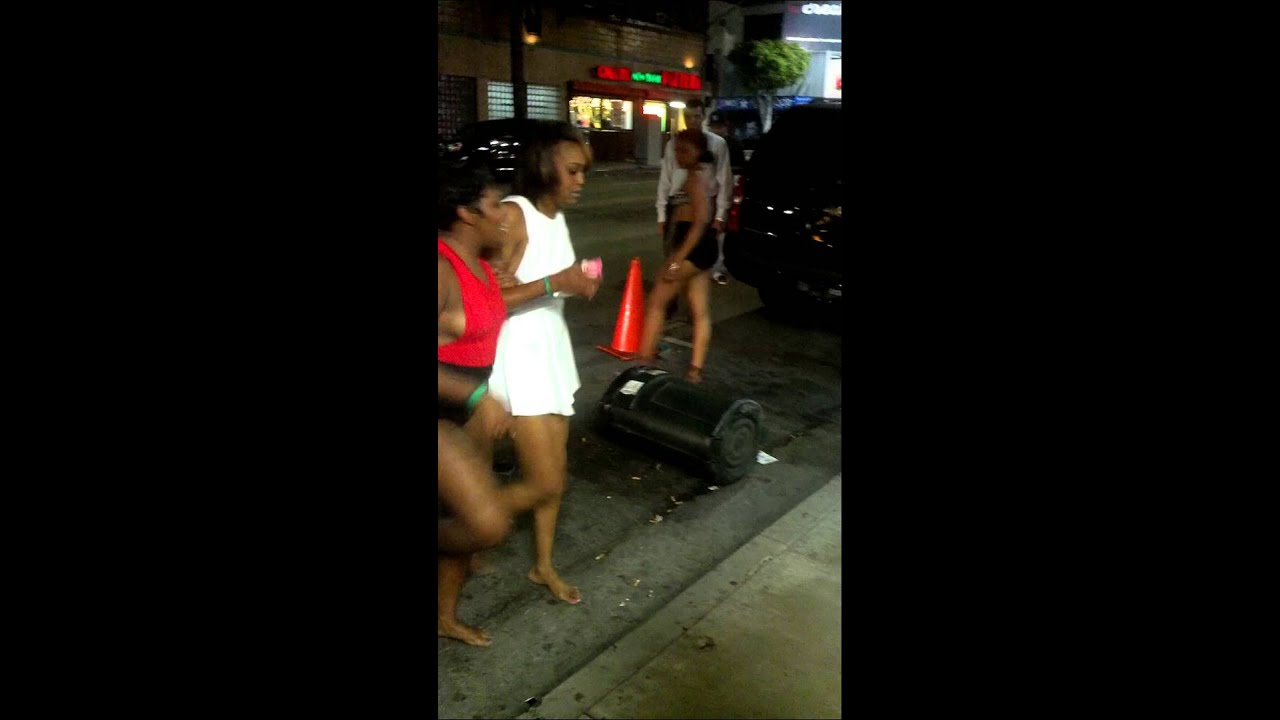 My First La Black Girl Fight In Hollywood - Youtube-7114