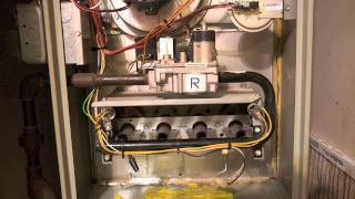 Trane XL-80 furnace malfunction