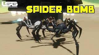 Space Engineers - Dropping Spiders Concept