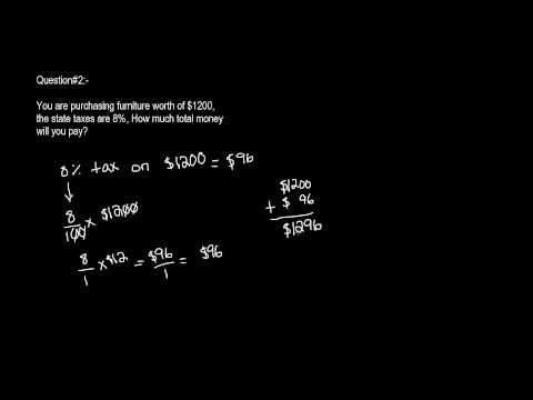 6th Grade Math What Is Tax And How To Calculate Tax