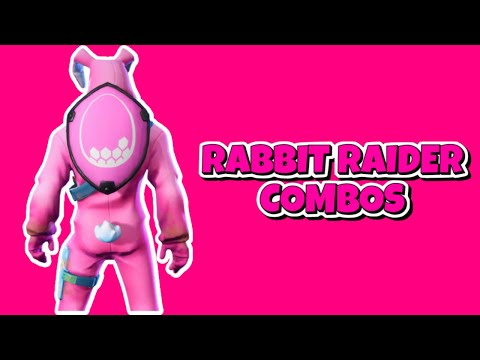 FORTNITE - RABBIT RAIDER COMBOS
