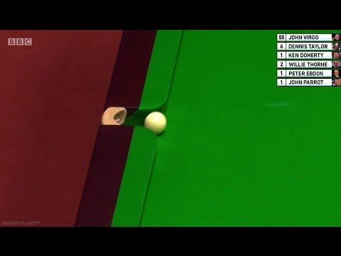 WHERE'S THE CUE BALL GOING?! John Virgo - Funniest Snooker Commentator | 2017 World Championship